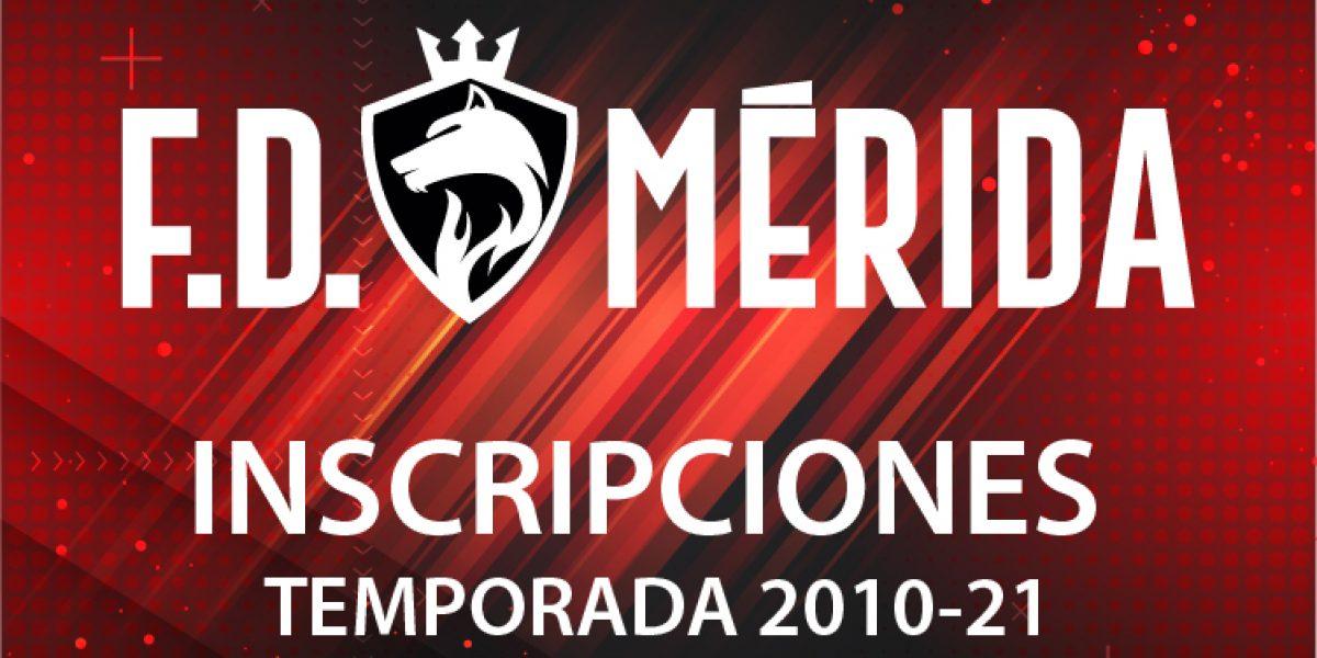Inscripciones temporada 2020-21